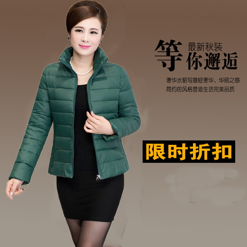 Yuli products new winter middle-aged and old women Big yards mother cotton-padded jacket The old man winter coat
