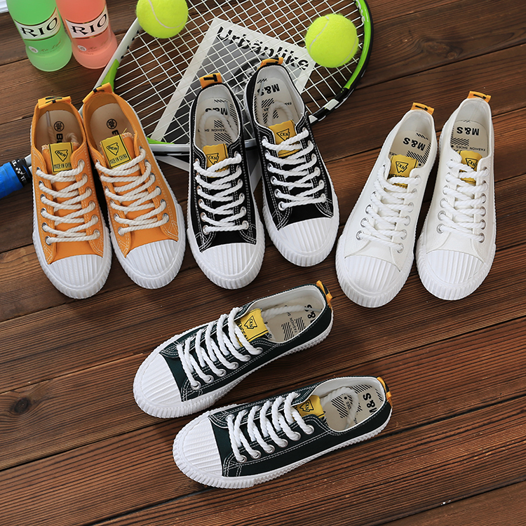 Spring and summer female canvas shoes 2017 new ulzzang all-match student street Harajuku Korean port wind white shoes