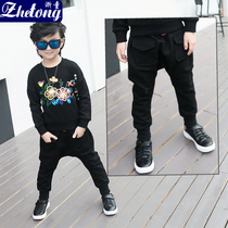 Thus it was that the Zhejiang childrens harem pants 2016 autumn collects children warm pants trousers baby pants and fleece pants