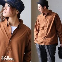 Japanese boutique Ke*en 2017 winter new Japanese casual shirt dress 25768