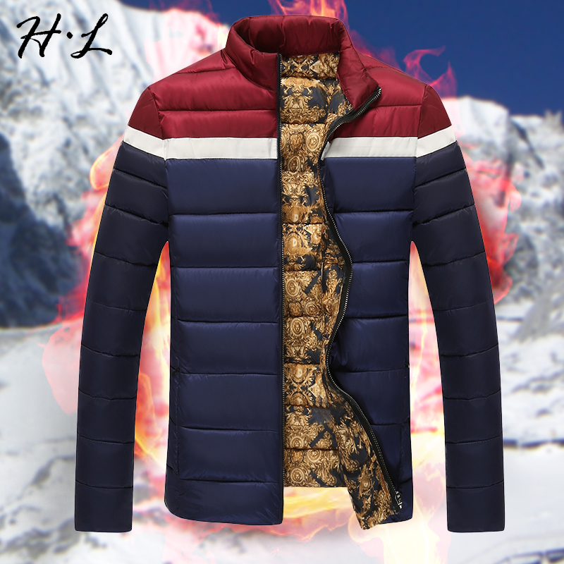 New winter men more frivolous short down coat collar cotton-padded clothes young han edition cultivate one's morality warm coat