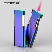 Perry PRIMO/ windproof lighter inflatable thin men's creative personality birthday DIY custom lettering