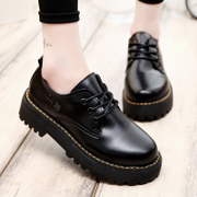 In the autumn of 2017 new British style retro shoes leisure shoes students with all-match Harajuku shoes tide