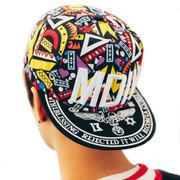 Korean men's Baseball Cap Hat Cap flat all-match hip hop along the street a couple of female summer sun trendsetter peaked cap
