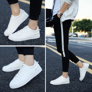 In the spring of 2017 new men's shoes white shoes shoes shoes white sports shoes Korean Students
