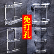 Bathroom Shelves, toilets, toilets, toilets, washing tables, shelves, wall hangings, suction cups, wall - free, drilling