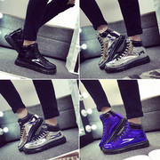 Spring shoes high supreme trend of Korean casual shoes polished shoes shoes' social man