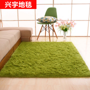 Thick silk wool simple modern bedroom carpet in the living room coffee table can be customized carpeting tatami bed