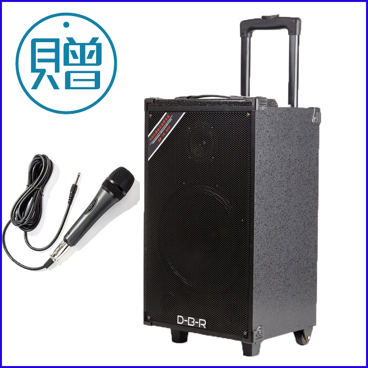 Rod battery sound Folk guitar amp 100 w rechargeable portable stray singer street musicians speakers