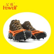 Male wolf crampons shoe cover outdoor shoes ugg ultra light steel 8 tooth nail simple climbing climbing ice catch