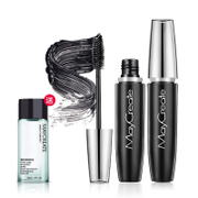 Buy 1 get 1 slim dense Mascara natural curl type encryption waterproof lasting not dizzydo genuine extension