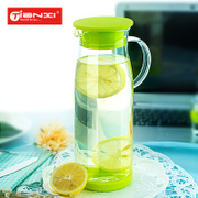Home heat-resistant explosion-proof glass bottle of juice jug capacity pot Cup