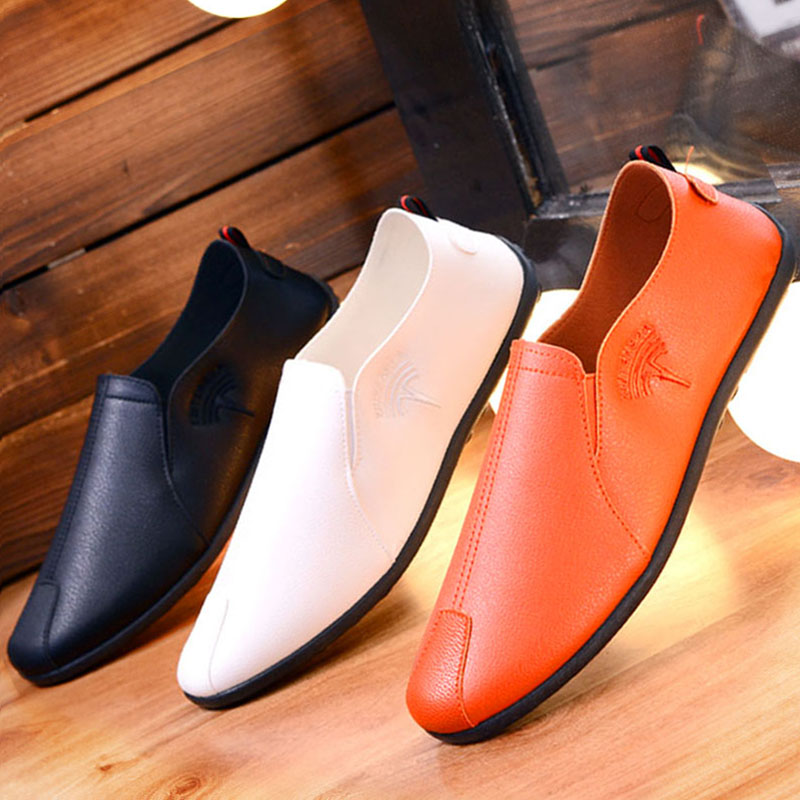 New men pedal lazy, British retro beans, Korean shoes, hand shoes, leisure shoes, shoes