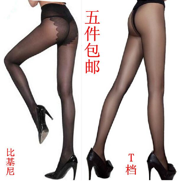 包邮 蝴蝶档女连裤袜 低腰无痕 T档丝袜 超薄比基尼袜子厂家批发