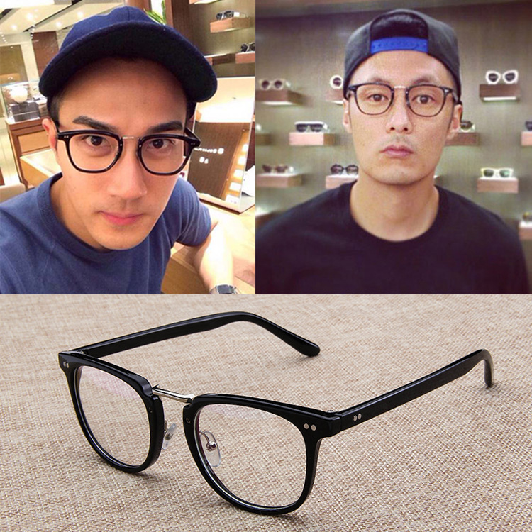 2016 Shawn Yue same frame mirror, current glasses, Fu Yuanhui retro spectacle frames, 2988 Korean glasses frames