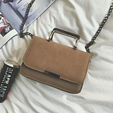 Bag 2016 new fashion simple handbag Korean wild mini-chain shoulders Messenger small tide bag