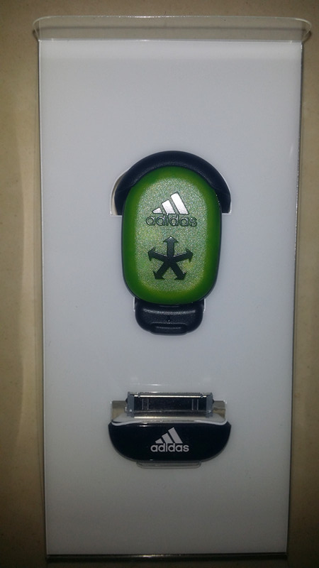 A clearance sale authentic adidas miCoachiphone/ipod sensor connections speedometer V42038