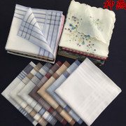 With 5 shipping cotton cotton handkerchief Old God Yan man portable soft printed handkerchief