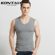 Vest vest cotton modal seamless male summer sports tight underwear sleeveless T-shirt bottoming