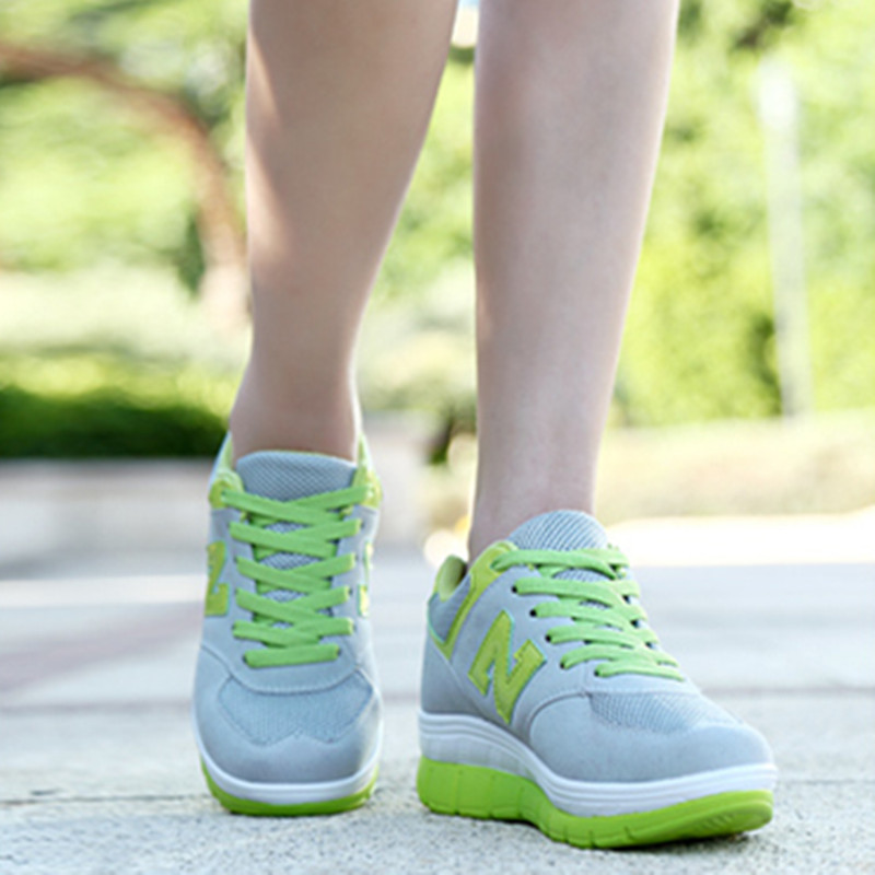 South Korea's new fall thick bottom N students leisure sports shoes shoes running shoes and shoes tide female.