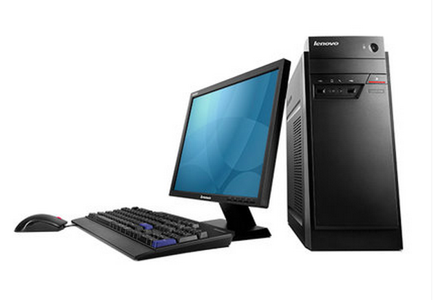 Lenovo desktop computer with a 18.5 inch G1840 B4550 ground with PCI slots support XP