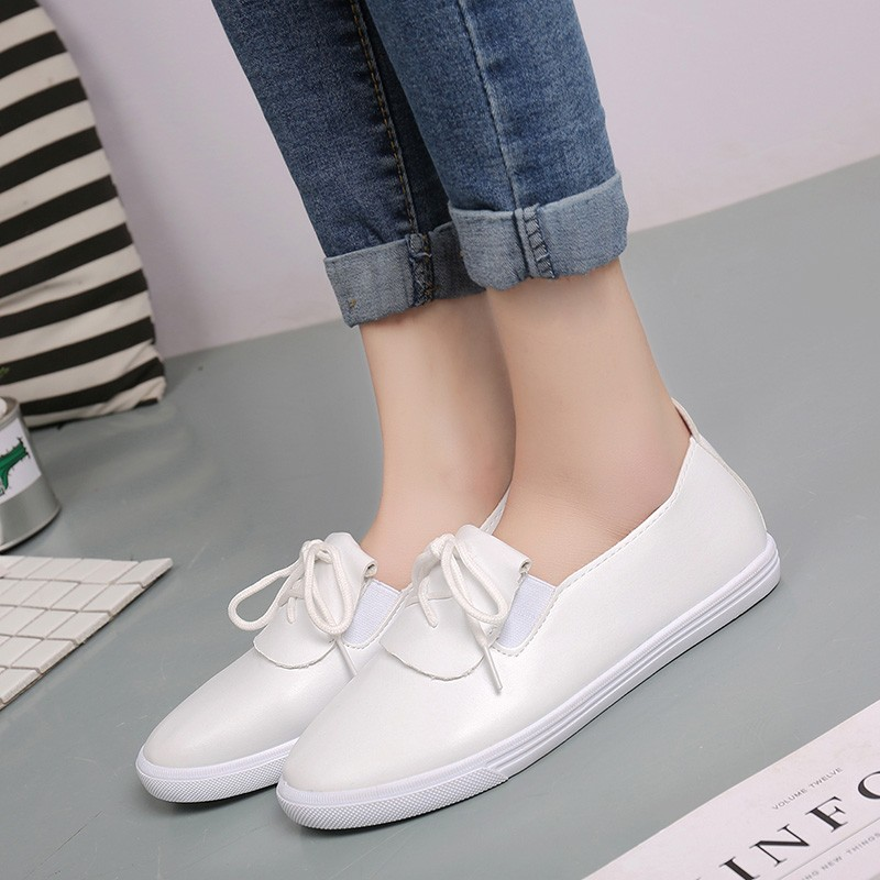 Dadong official flagship store 2017 new summer new all-match Korean student Bai Xieping white canvas shoes shoes