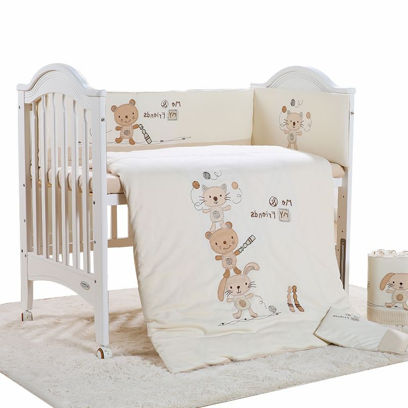 Beihao baby cotton bedding cotton bed around the baby cotton bedding in autumn and winter seasons thickening