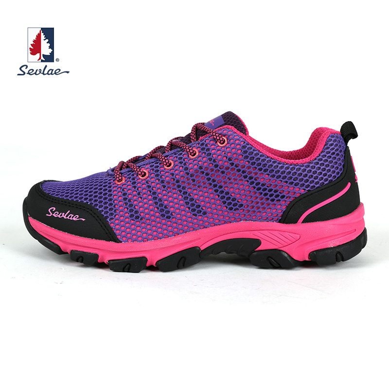 SEVLAE 2017 spring and summer outdoor climbing hiking shengfulai ladies shoes breathable fashion 9111681212