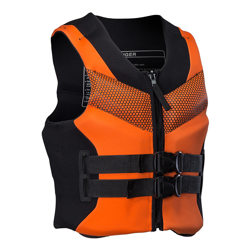 Shark professional Bart thickened in adult life jacket swimming snorkeling vests fishing clothing for men and women professional Jet Ski vest