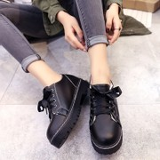 2017 New England College of spring and autumn wind rough documentary Crocs flat casual shoes retro shoes