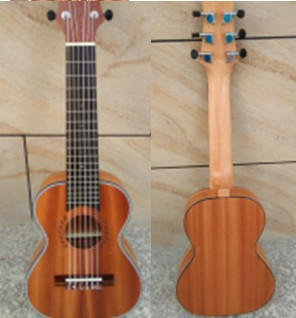 28 inches ukulele guitar lili sand Billy, the zebra wood, acacia wood, veneer