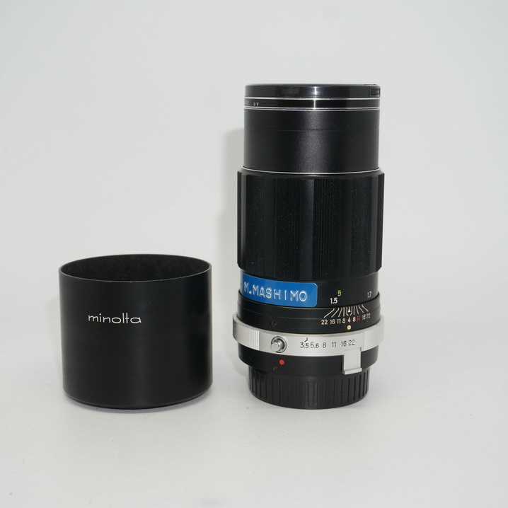 Minolta MC 135 3.5 QD MD portrait lens Sony A6000, A7 93 new specials