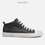 Dreambox simple Europe skateboarding leather shoes retro high shoes Metrosexual old dirty shoes leisure shoes