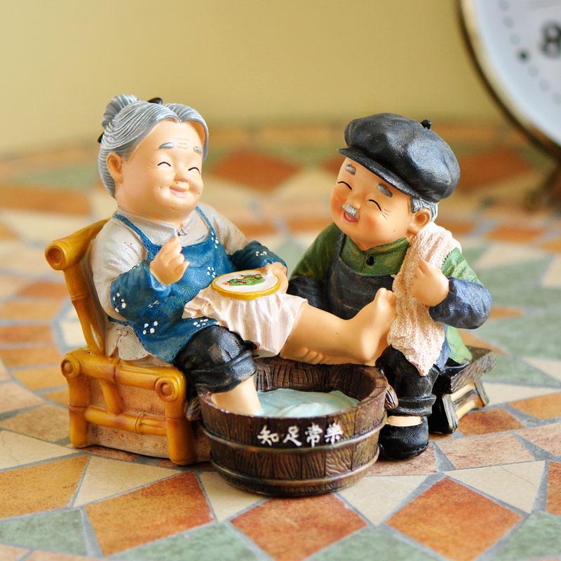 新中式创意小摆件卧室客厅电视柜酒柜摆设家居装饰工艺品结婚礼物