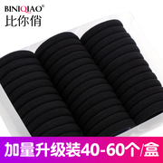 Shipping Tousheng seamless high elastic rubber band ring hair hair rope Korea hair band black headdress