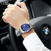 Robin watches male Mens watch movement quartz watch waterproof fashion mens watch luminous fine steel