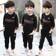 The boy spring set 2017 new Children Boys sports leisure two sets of 5-7 year old Korean spring tide clothing