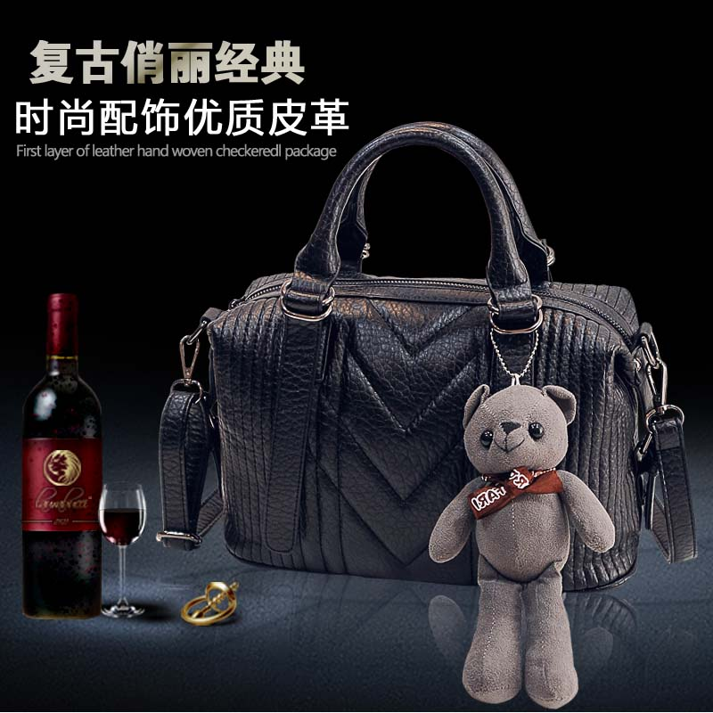 2015 new handbags for fall/winter fashion ladies shoulder bag slung Heng handbag trends for youth leisure packages