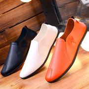 Fall Doug shoes mens shoes summer shoes breathable shoes trend of Korean lazy pedal shoes