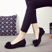 Summer and fall, new old Beijing cloth shoes, women's shoes, black clothes, shoes, bows, dancing, shoes, shoes, shoes