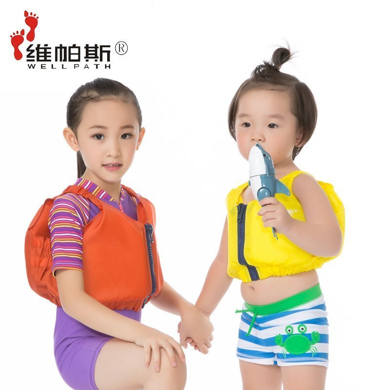 Weipasi professional babies learning to swim for children diving buoyancy clothing life jacket vest save outdoor clothing vest