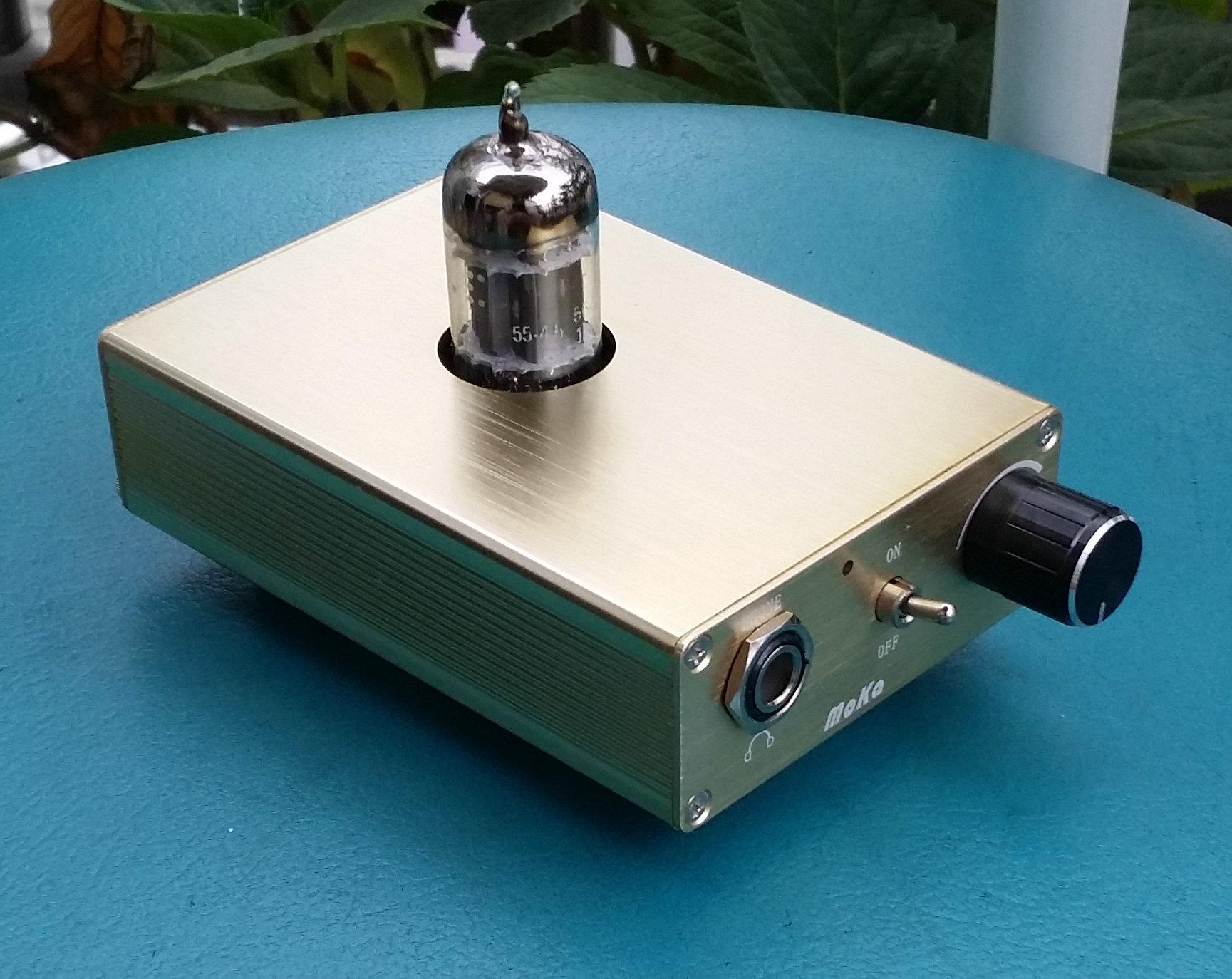 51 31]cheap purchase MEKA XF Earphone Amplifier Front