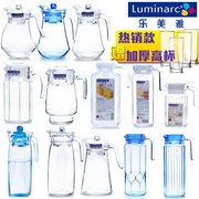 Lamia glass pitcher of high-temperature cold pot cold water cup heat of large capacity explosion-proof household suit jug
