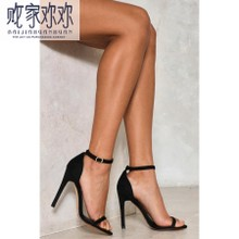 The British purchasing genuine 7.02 N direct mail 17 summer women's shoes with single toe sexy stiletto sandals