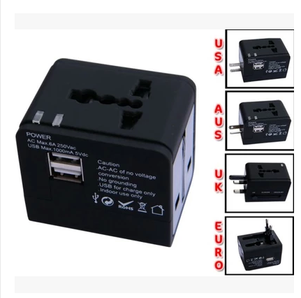 Universal world wide international travel abroad with multifunctional plug the converter adapter plug