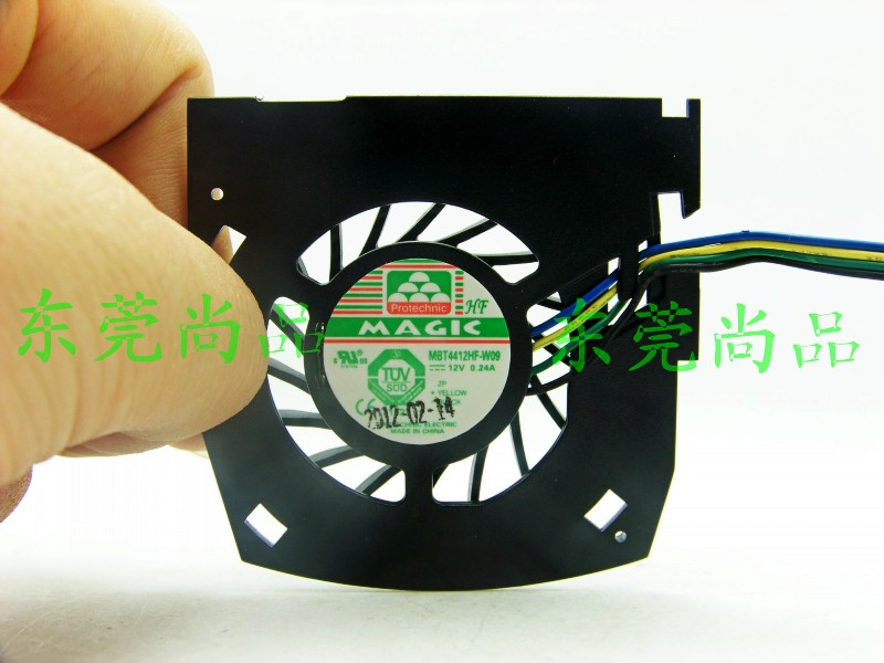 Original leadtek Quadro K600 graphics cooling fan MBT4412HF - W09 12 v 0.24 A