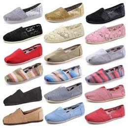 夏季top toms帆布鞋男鞋平底一脚蹬懒人鞋休闲男鞋低帮女鞋居家鞋