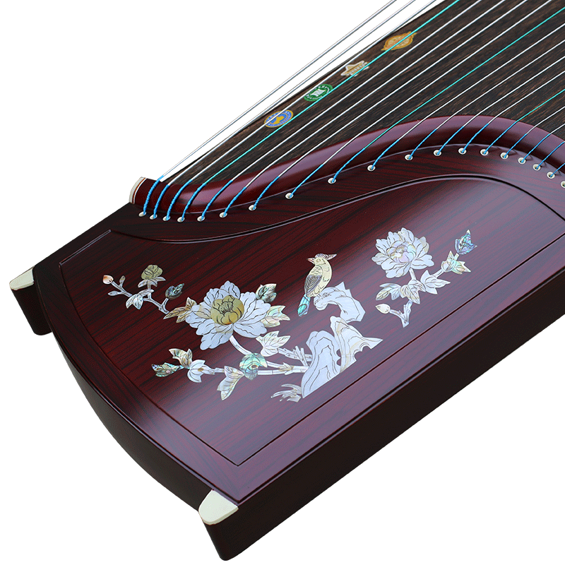 Play harp master signature color fairy acoustic instruments industry employs young beginners to play guzheng guzheng solid wood guzheng screw designed embedded states