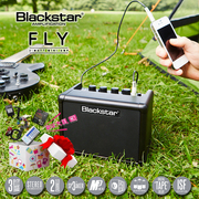 blackstar black star fly3 mini pack Bluetooth folk electric guitar practice small portable speaker 3W