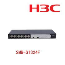 The real thing! China three H3C S1324F 24 mouth full gigabit switches two gigabit SFP mouth/group in the country
